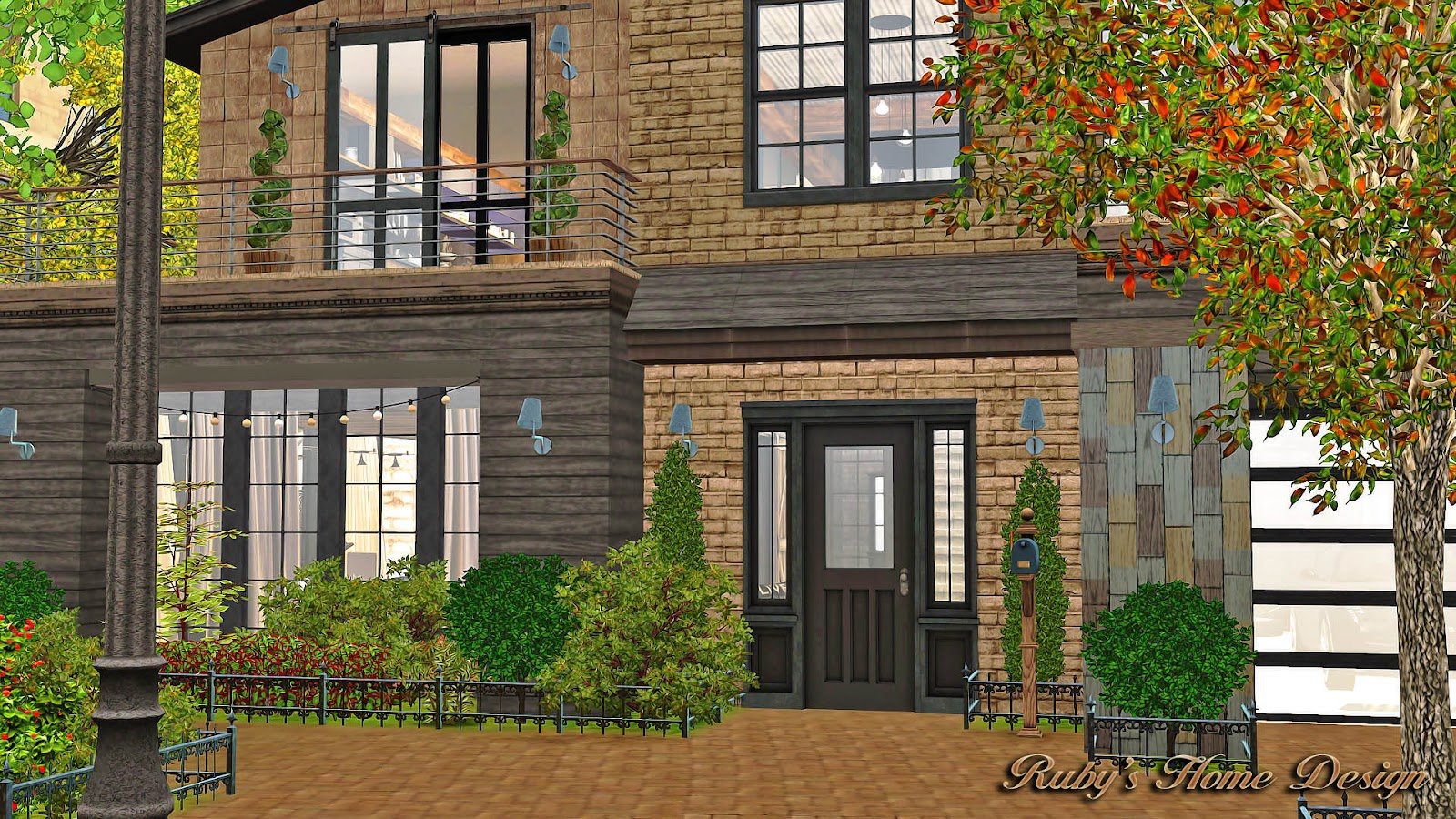 Sims3 Industrial Chic 工業風住宅- Ruby's Home Design