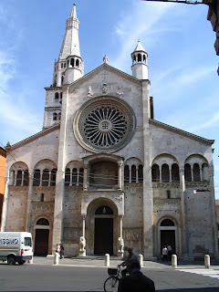 Modena's cathedral is on Piazza Grande at the heart of the city