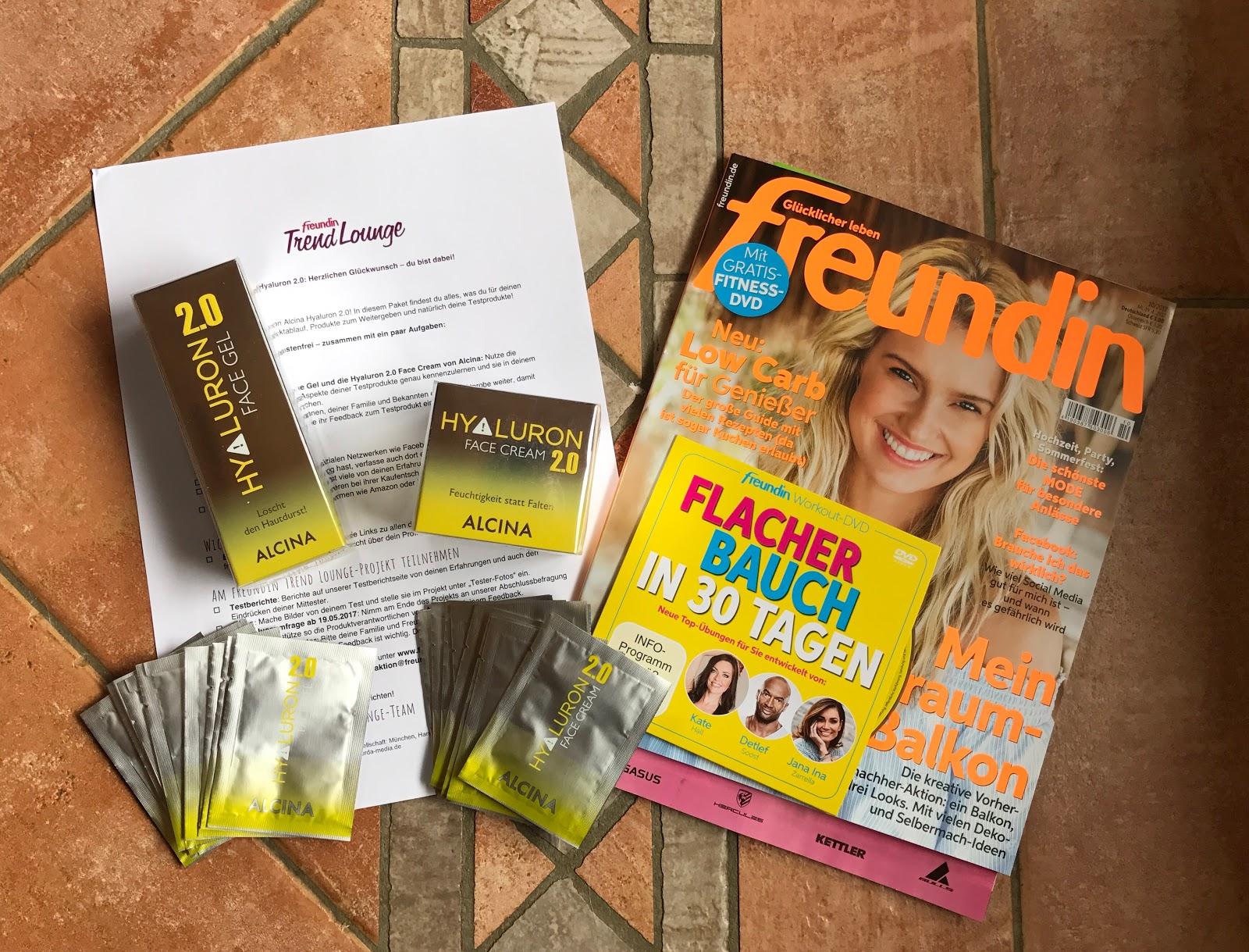 Barnies Lifestyle Produkttest Alcina Hyaluron 20 Face Gel Und