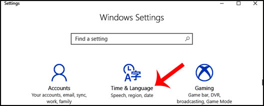 How to change keyboard language in Windows 10, 7 8 or xp