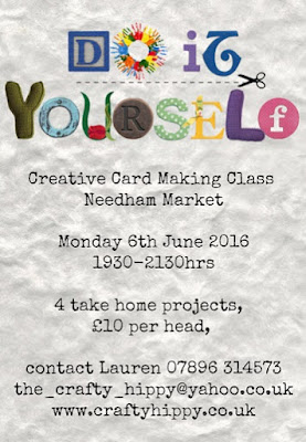 Craft Classes, Needham Market, Stampin' Up! Suffolk