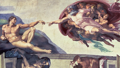 michelangelo adam