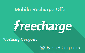 Freecharge Mobile Recharge Coupon Offer