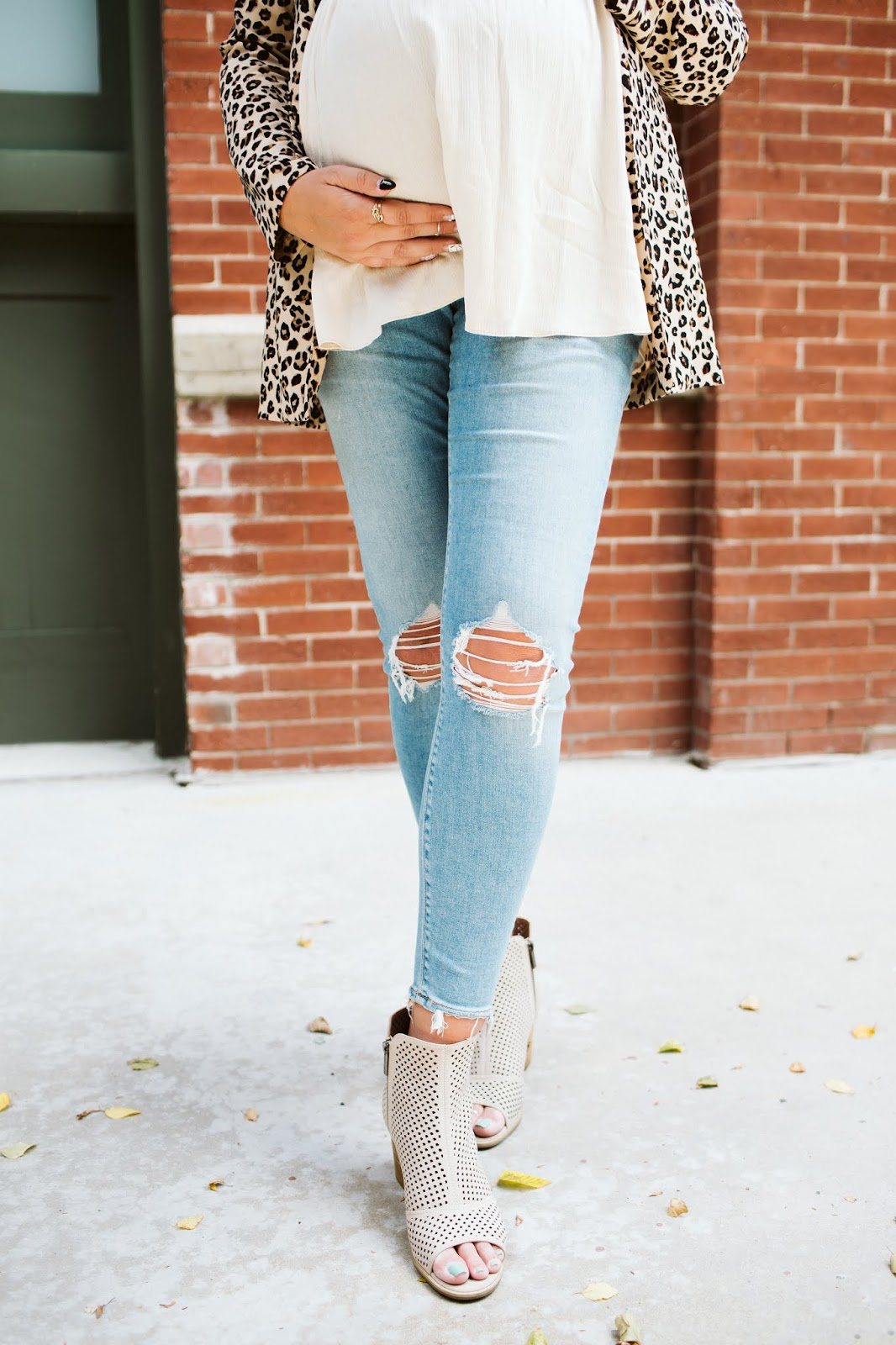 Maternity Jeans, 3rd trimester style, Fall style