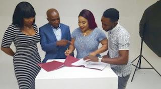 Tonto Dikeh Signs Multi Million Naira Deal With Naturessenceusa