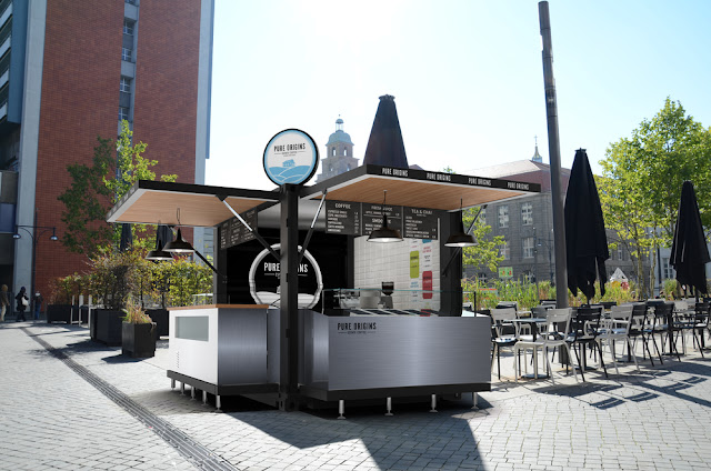 Pop-up Container Coffe Shop kiosk