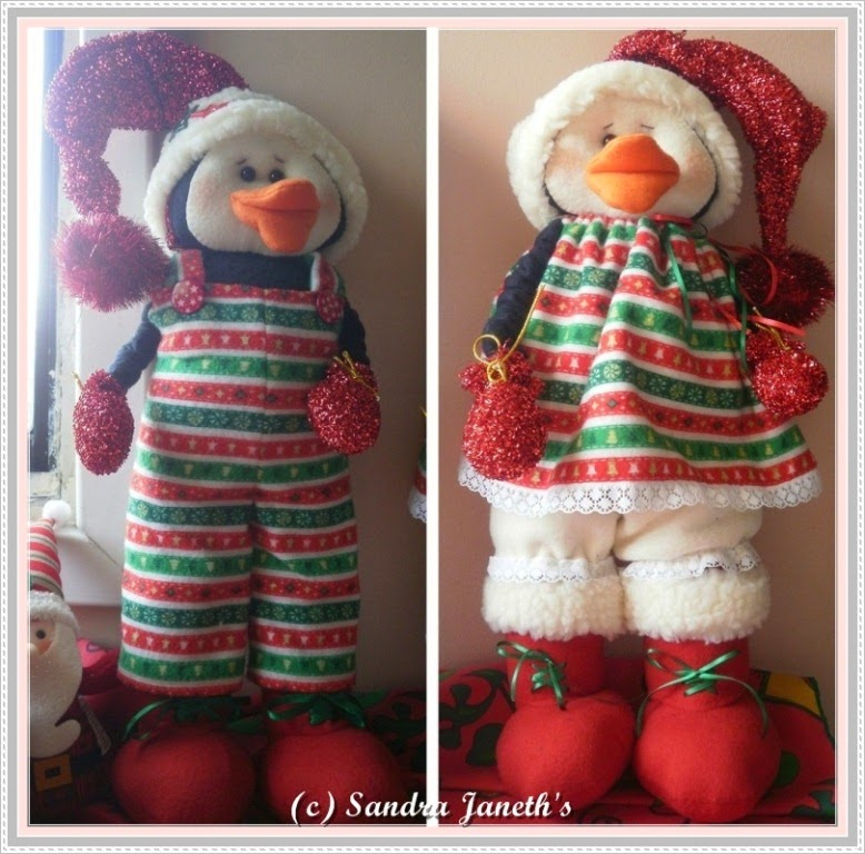 Muñecos Navideños, Pinguinos Patones