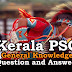 Kerala PSC General Knowledge Question and Answers - 54