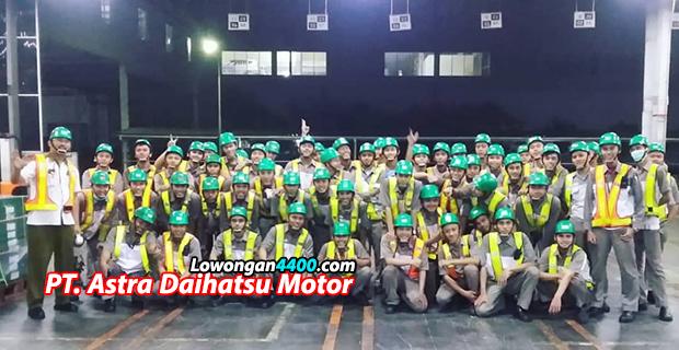 Lowongan Kerja PT. Astra Daihatsu Motor (ADM) - Disnaker Karawang