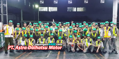 Lowongan Kerja PT. Astra Daihatsu Motor (ADM) 2021