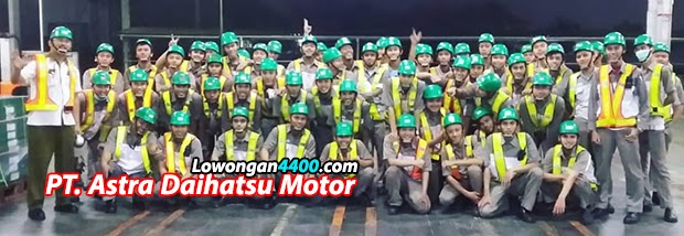 Lowongan Kerja PT. Astra Daihatsu Motor (ADM) 2020
