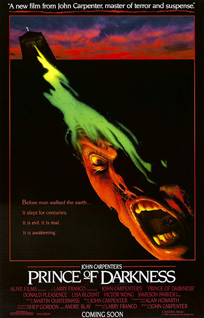 Prince of Darkness 1987 movie poster