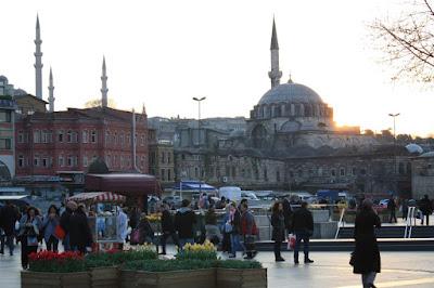 Rüstem Pasa mosque in Istanbul