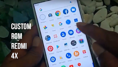 Download CustoM ROM Pixel Expirience PE Go Official Redmi 4X