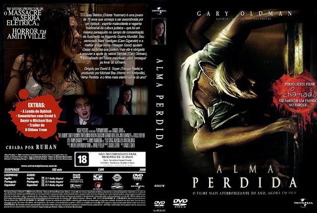Capa DVD Alma Perdida