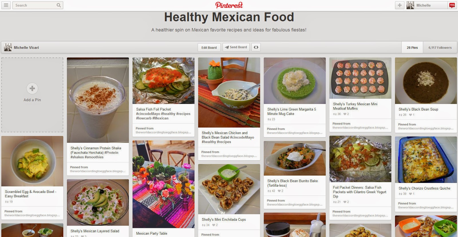 Theworldaccordingtoeggface eggface healthy mexican food pinterest page httppinteresteggfacehealthy mexican forumfinder Images