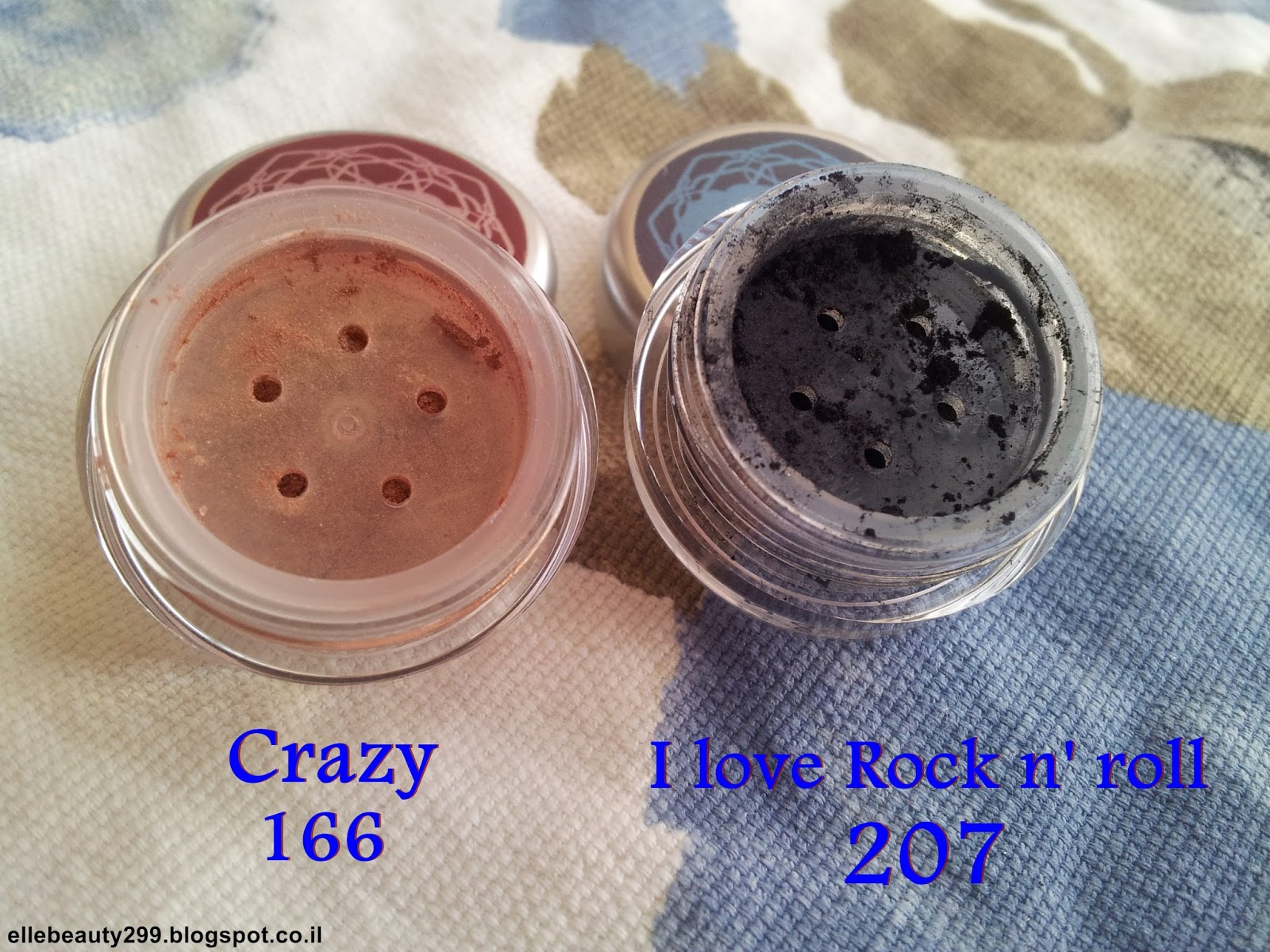 Crazy 166 mineral eyeshadow
