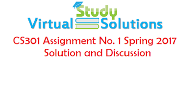 CS304 assignment No 01 Solution and Discussion