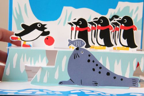 Illustration from 10 Little Penguins