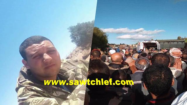 تشييع جنازة الشهيد عيساوي علي بمقبرة بني راشد