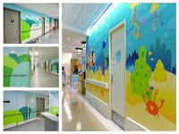 Rumah Sakit Menjadi Nyaman Karena LukisDinding