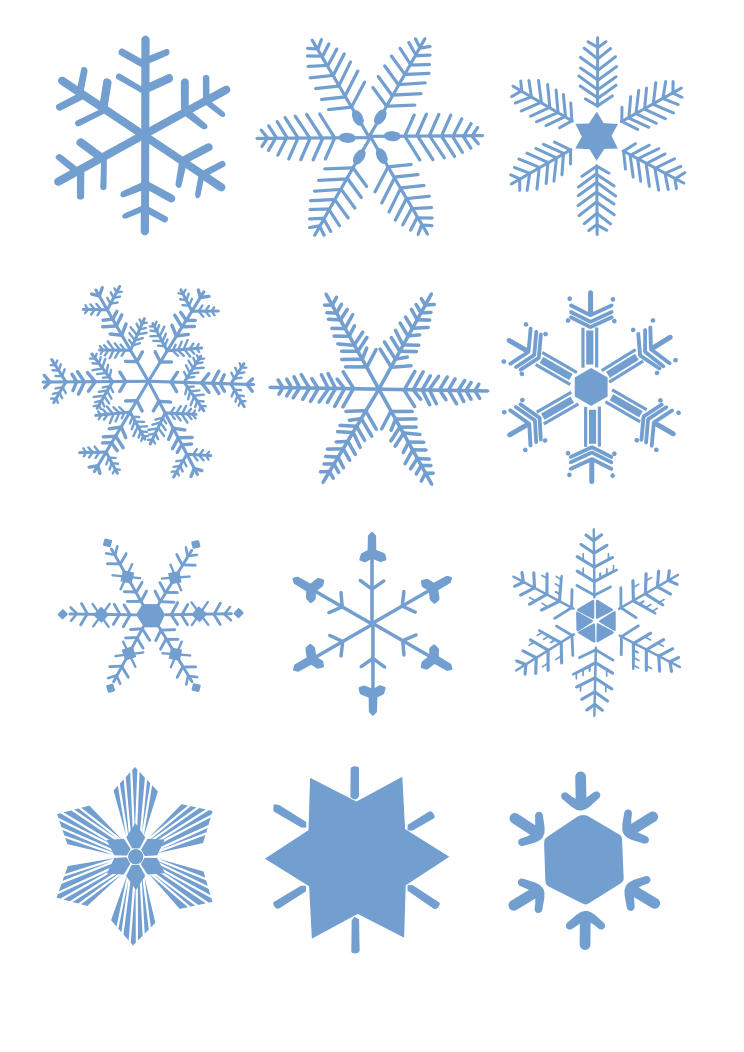 clipart snowflake background - photo #5