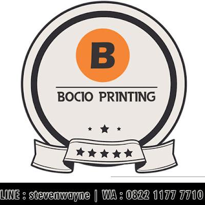 BOCIO PRINTING - Buat Stempel Murah Medan - FREE ONGKIR - WA 0822 1177 7710