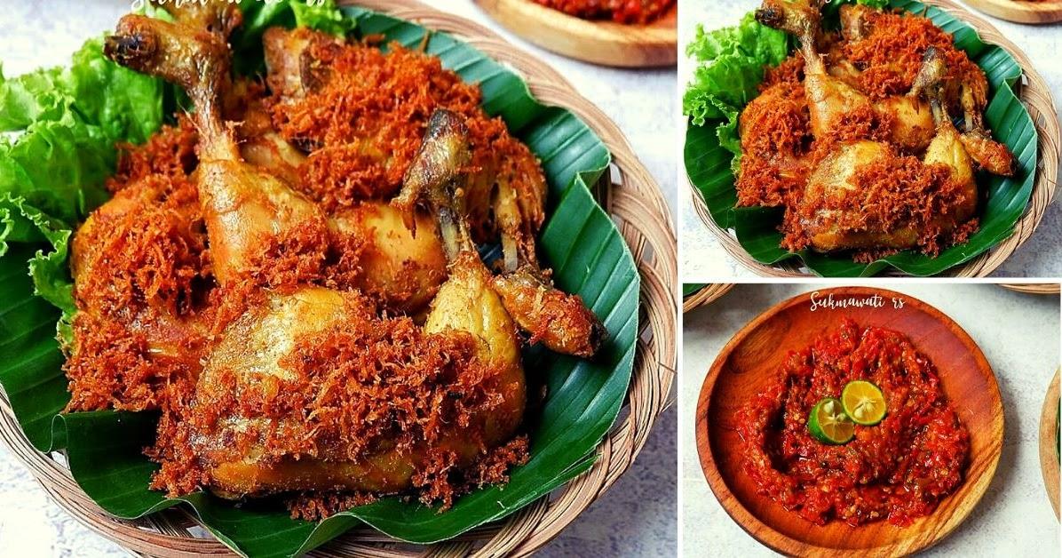 resep ayam goreng ungkep bumbu kuning soalan Resepi Ayam Goreng Kunyit Madu Enak dan Mudah