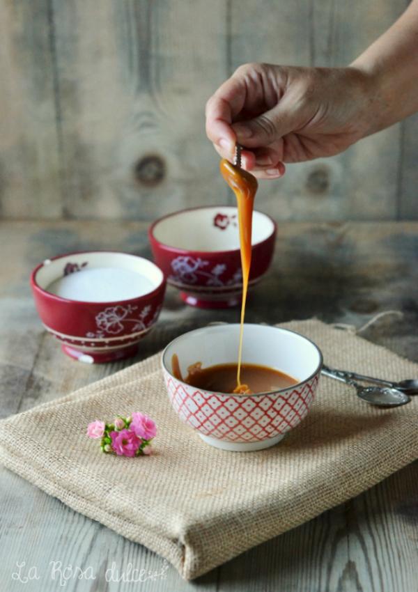 Salsa tofee o caramelo sin lactosa