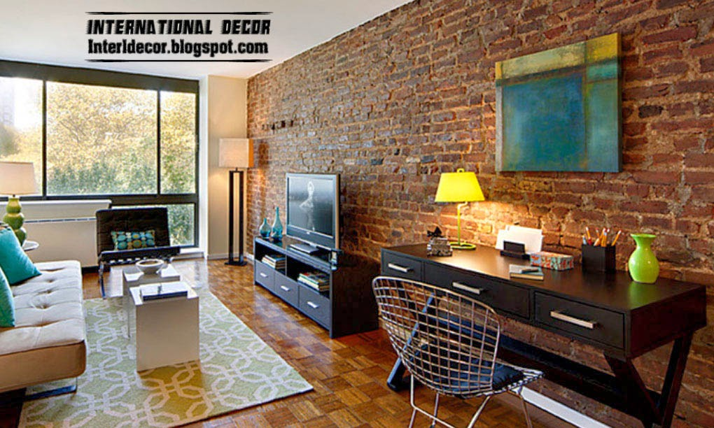 Top 10 brick wall designs for interior brick walls Tiles for hall in india