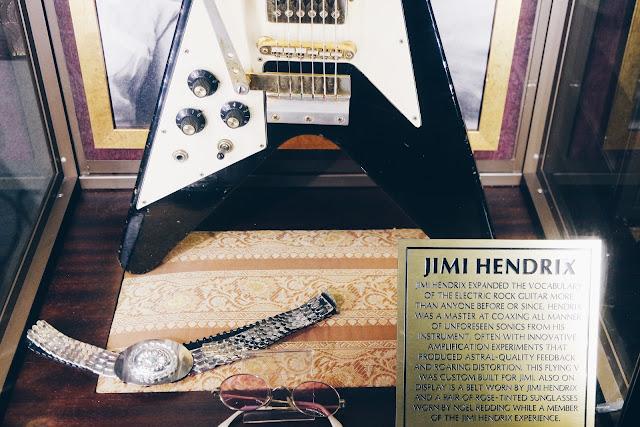 hard rock cafe, london, jimmy page, jimmy hendrix, rock n roll, guitare,