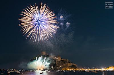 Festa di Sant' Anna, 2018 - l' Incendio del Castello e i Fuochi