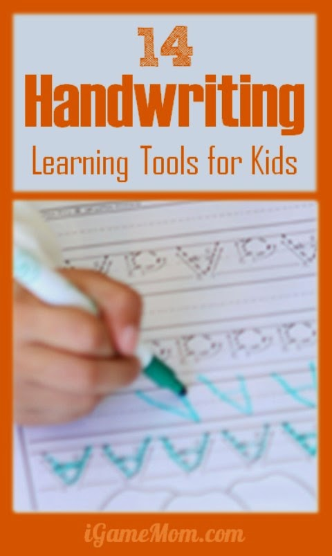 Writing tools for kids