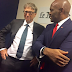 Tony Elumelu and Bill Gates meet in France (photos)