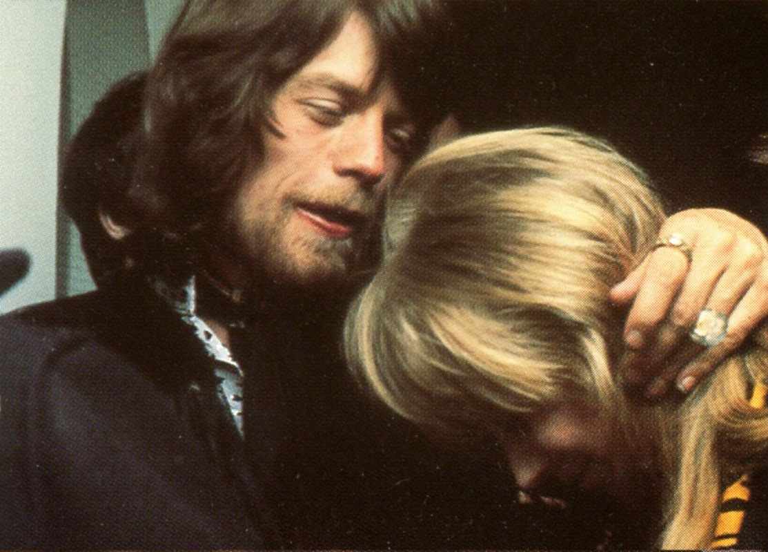 Marianne Faithfull And Mick Jagger 37 Vintage Pictures Of