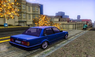 BMW E30 Sedan GTA San Andreas