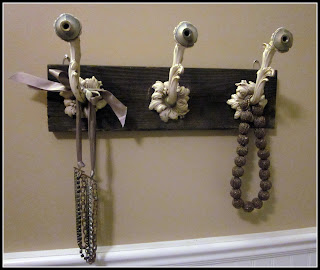 Update a Lamp to Jewelry Hooks