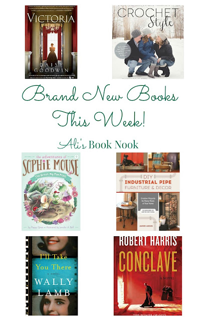 6 new release books this week.