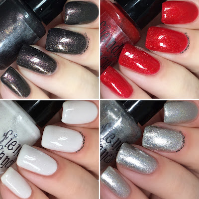 fiendish fancies thirst collection swatches