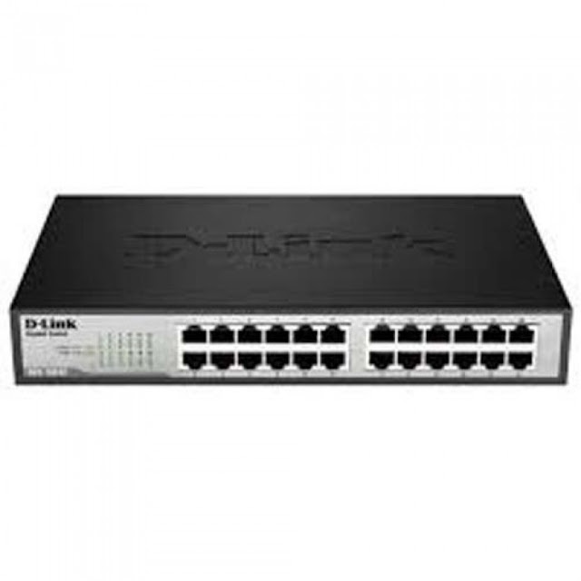 SWITCH 24 port 10/100/1000 Mbps GIGABIT  DGS-1024C Besi | bali cctv