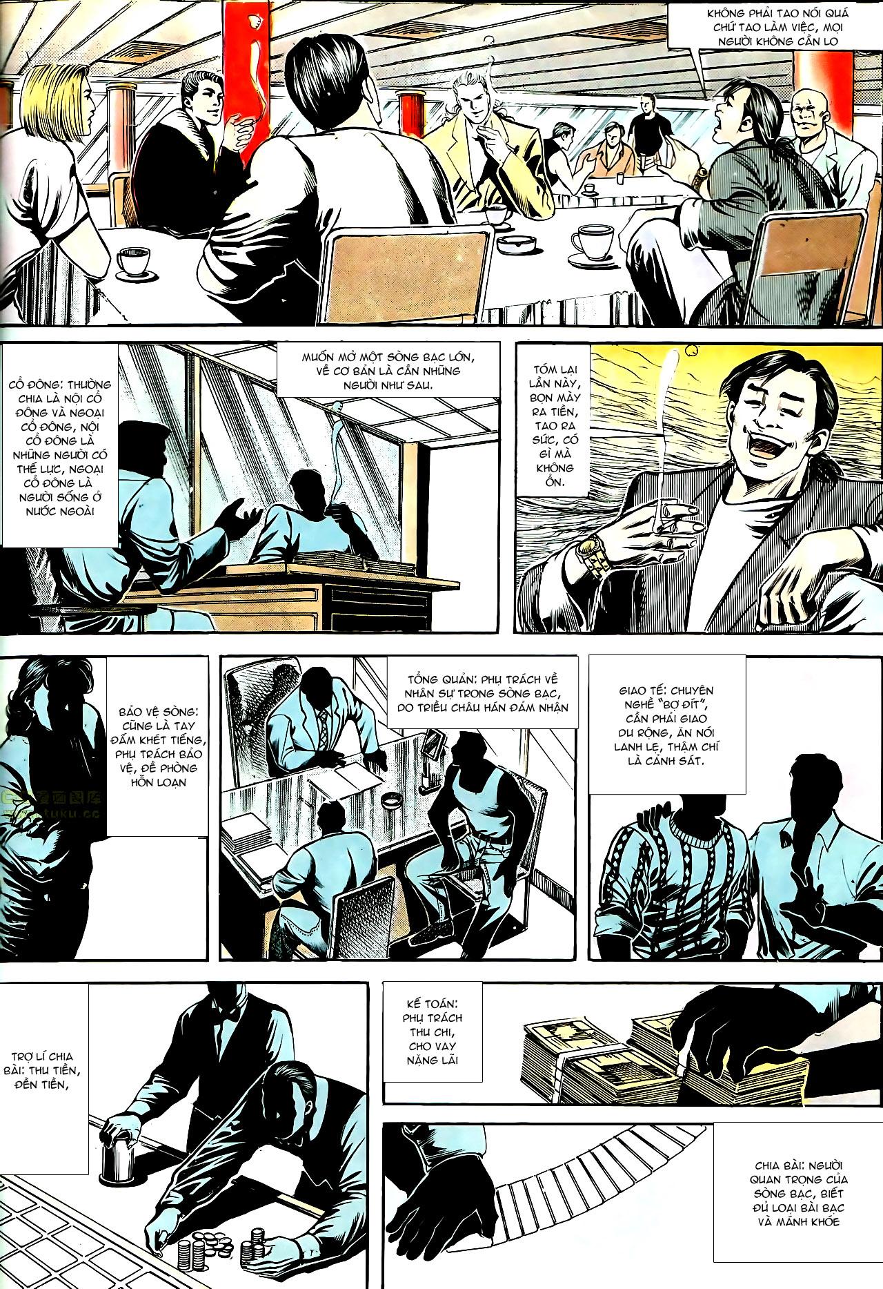Người Trong Giang Hồ chapter 153: xích mích trang 21