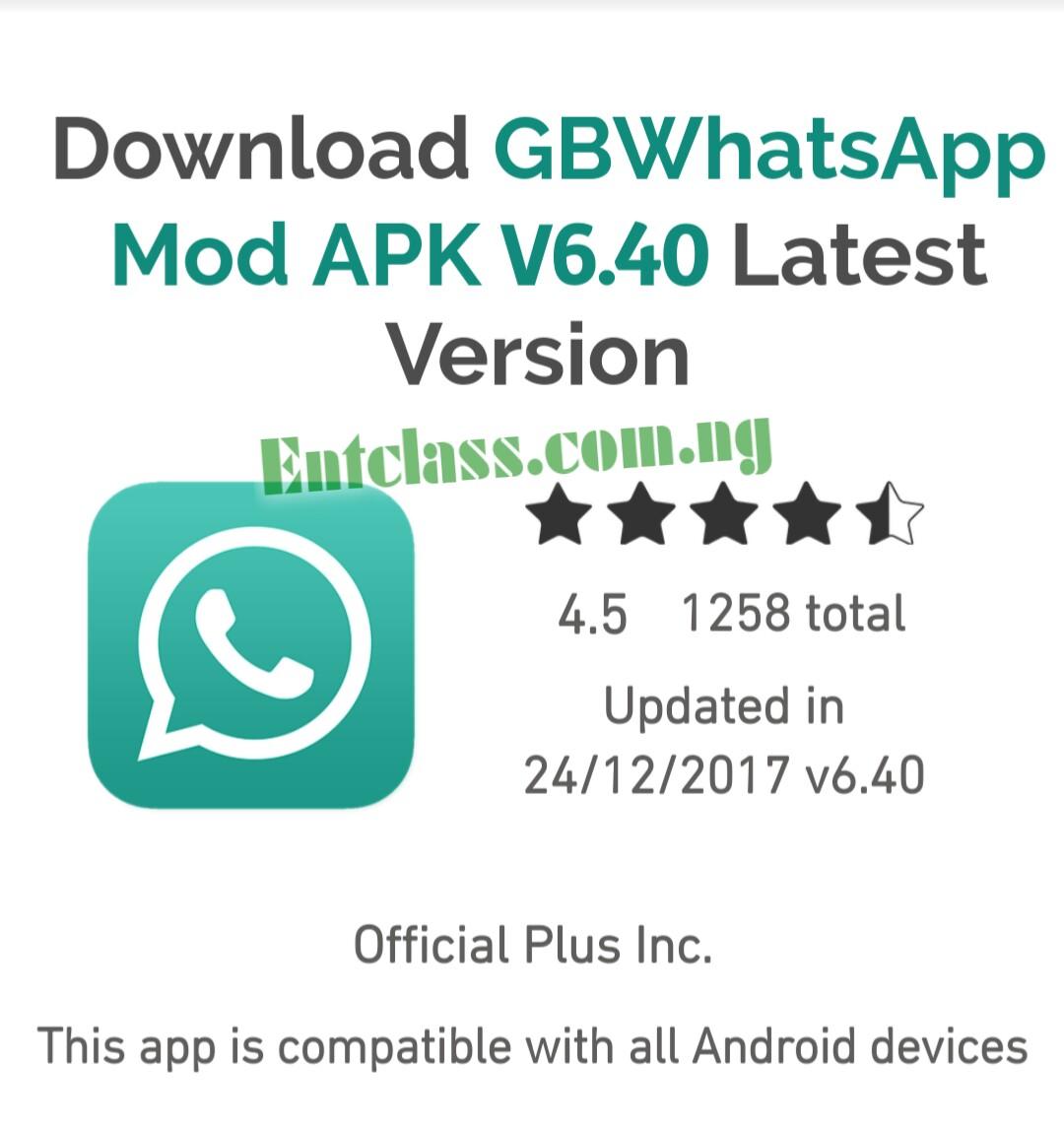 download latest gb whatsapp apk 2018