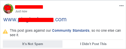 Website URL Blocked By Facebook? How to fix it? Share Any