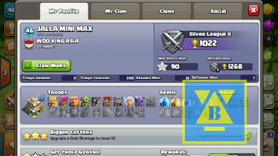 Pengertian clash of clans Mini Max
