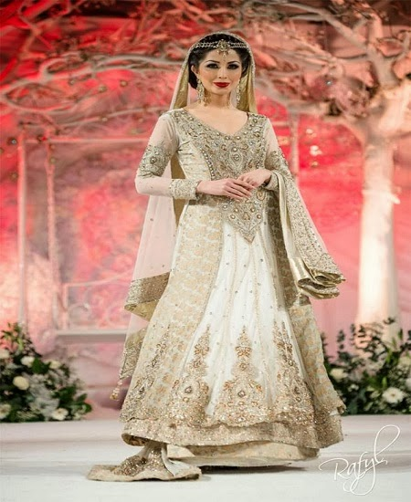 Most Beautiful Latest Bridal Dresses 2014
