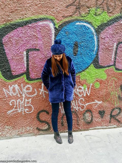 peluş kürk modası