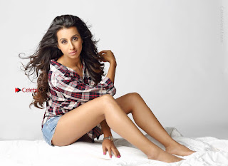 Actress Sanjjanaa Archana Galrani Latest Spicy Po Shoot Gallery in Denim Shorts  0007.jpg