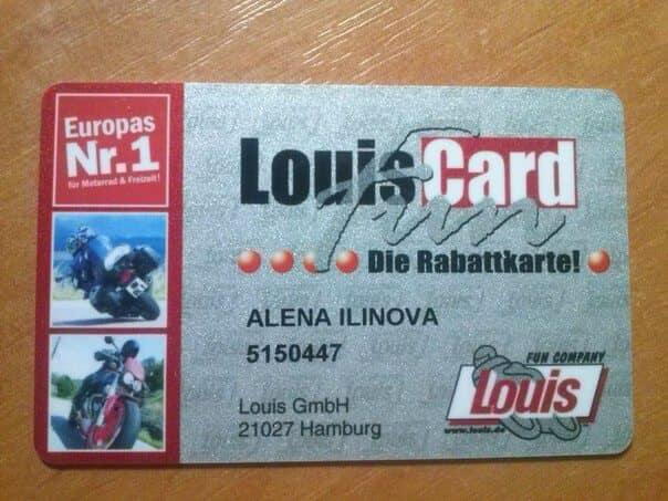 أحصل على بطاقة عضوية في نادي LouisFun للدراجات النارية تصلك مجانا إلى بيتك