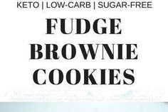 Fudgey Keto Brownie Cookies Recipe