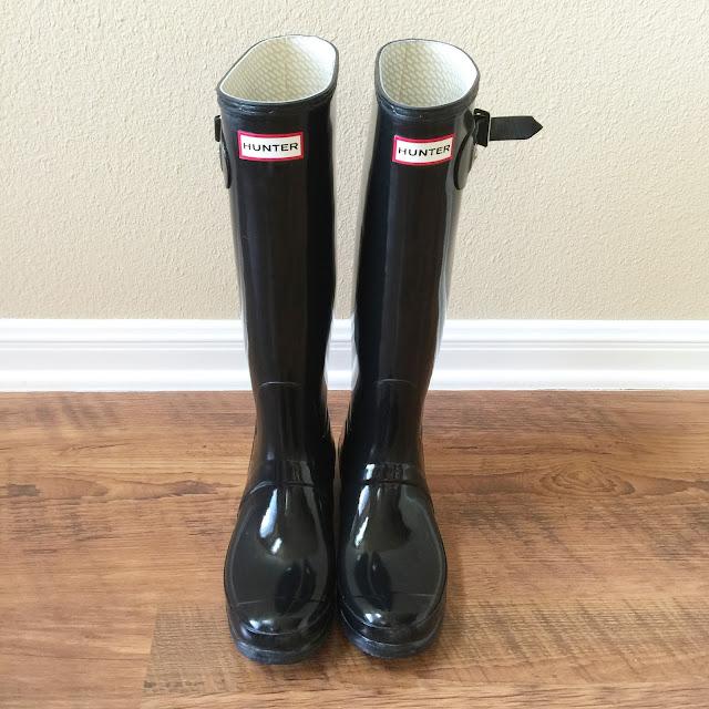 Lisa Loves John Rain Boot Maintenance